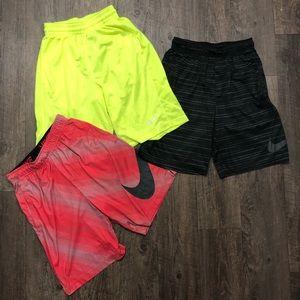 Nike Basketball shorts (Set of 3)